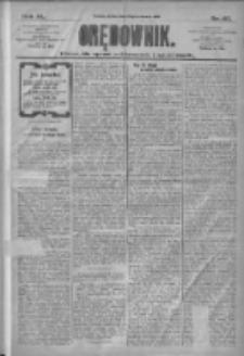 Orędownik: pismo dla spraw politycznych i społecznych 1910.06.29 R.40 Nr147