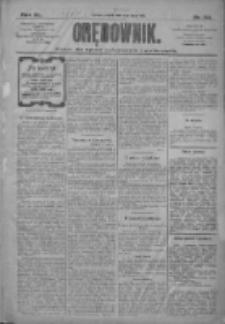 Orędownik: pismo dla spraw politycznych i społecznych 1910.07.01 R.40 Nr148