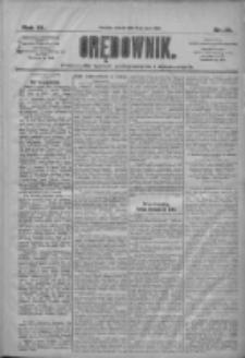 Orędownik: pismo dla spraw politycznych i społecznych 1910.07.05 R.40 Nr151
