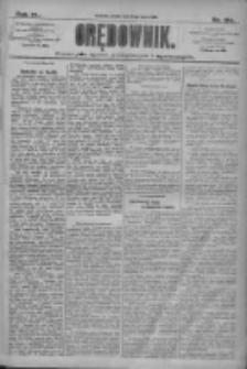 Orędownik: pismo dla spraw politycznych i społecznych 1910.07.08 R.40 Nr154