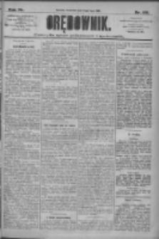 Orędownik: pismo dla spraw politycznych i społecznych 1910.07.14 R.40 Nr159