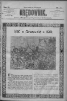 Orędownik: pismo dla spraw politycznych i społecznych 1910.07.15 R.40 Nr160