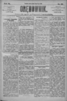 Orędownik: pismo dla spraw politycznych i społecznych 1910.07.16 R.40 Nr161