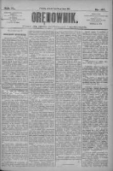 Orędownik: pismo dla spraw politycznych i społecznych 1910.07.19 R.40 Nr163