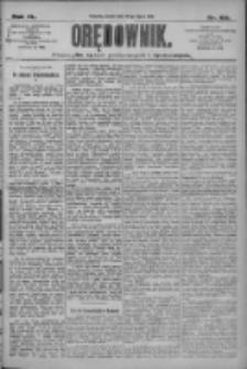 Orędownik: pismo dla spraw politycznych i społecznych 1910.07.22 R.40 Nr166
