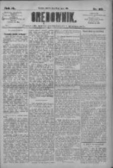 Orędownik: pismo dla spraw politycznych i społecznych 1910.07.26 R.40 Nr169