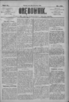 Orędownik: pismo dla spraw politycznych i społecznych 1910.07.27 R.40 Nr170