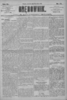 Orędownik: pismo dla spraw politycznych i społecznych 1910.07.28 R.40 Nr171