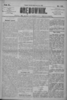 Orędownik: pismo dla spraw politycznych i społecznych 1910.07.10 R.40 Nr156