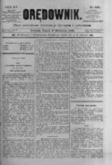 Orędownik: pismo poświęcone sprawom politycznym i spółecznym 1885.09.11 R.15 Nr206