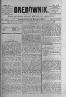 Orędownik: pismo poświęcone sprawom politycznym i spółecznym 1885.09.12 R.15 Nr207