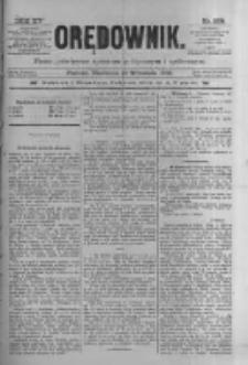 Orędownik: pismo poświęcone sprawom politycznym i spółecznym 1885.09.13 R.15 Nr208
