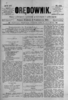 Orędownik: pismo poświęcone sprawom politycznym i spółecznym 1885.10.11 R.15 Nr232