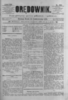 Orędownik: pismo poświęcone sprawom politycznym i spółecznym 1885.10.28 R.15 Nr246