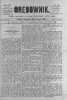 Orędownik: pismo poświęcone sprawom politycznym i spółecznym 1885.11.19 R.15 Nr265
