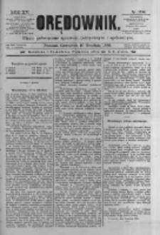 Orędownik: pismo poświęcone sprawom politycznym i spółecznym 1885.12.10 R.15 Nr282