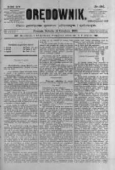 Orędownik: pismo poświęcone sprawom politycznym i spółecznym 1885.12.12 R.15 Nr284