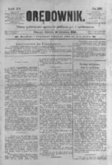 Orędownik: pismo poświęcone sprawom politycznym i spółecznym 1885.12.19 R.15 Nr290