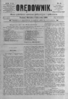 Orędownik: pismo poświęcone sprawom politycznym i spółecznym. 1886.01.03 R.16 nr2