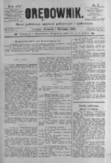 Orędownik: pismo poświęcone sprawom politycznym i spółecznym. 1886.01.05 R.16 nr3