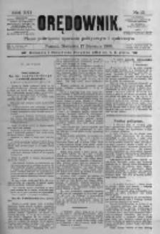 Orędownik: pismo poświęcone sprawom politycznym i spółecznym. 1886.01.17 R.16 nr13