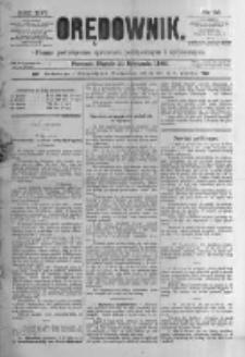 Orędownik: pismo poświęcone sprawom politycznym i spółecznym. 1886.01.29 R.16 nr23