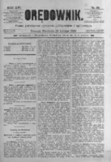 Orędownik: pismo poświęcone sprawom politycznym i spółecznym. 1886.02.28 R.16 nr48