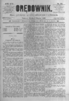 Orędownik: pismo poświęcone sprawom politycznym i spółecznym. 1886.03.03 R.16 nr50