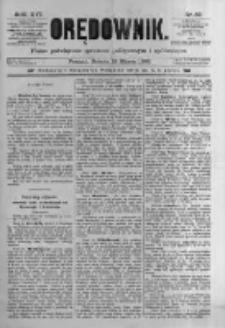 Orędownik: pismo poświęcone sprawom politycznym i spółecznym. 1886.03.13 R.16 nr59