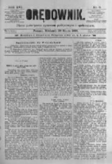 Orędownik: pismo poświęcone sprawom politycznym i spółecznym. 1886.03.28 R.16 nr71