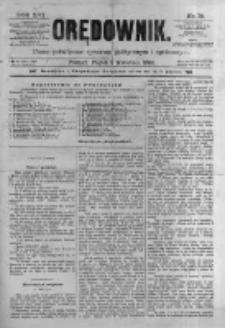 Orędownik: pismo poświęcone sprawom politycznym i spółecznym. 1886.04.02 R.16 nr75
