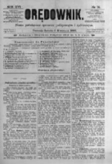 Orędownik: pismo poświęcone sprawom politycznym i spółecznym. 1886.04.03 R.16 nr76