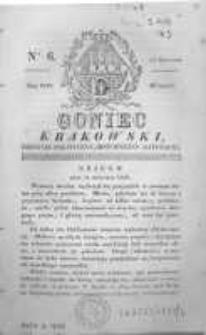 Goniec Krakowski: dziennik polityczny, historyczny i literacki. 1829.01.13 nr6