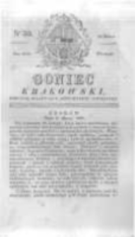 Goniec Krakowski: dziennik polityczny, historyczny i literacki. 1829.03.10 nr30