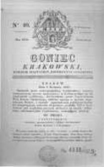 Goniec Krakowski: dziennik polityczny, historyczny i literacki. 1829.04.02 nr40