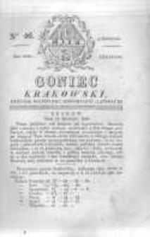 Goniec Krakowski: dziennik polityczny, historyczny i literacki. 1829.04.16 nr46