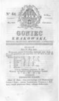 Goniec Krakowski: dziennik polityczny, historyczny i literacki. 1829.05.28 nr64