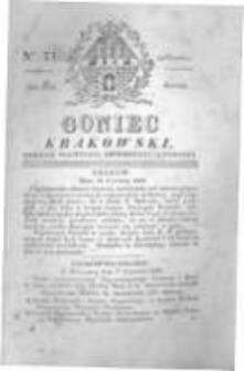 Goniec Krakowski: dziennik polityczny, historyczny i literacki. 1829.06.13 nr71