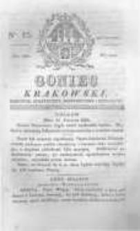 Goniec Krakowski: dziennik polityczny, historyczny i literacki. 1829.06.23 nr75