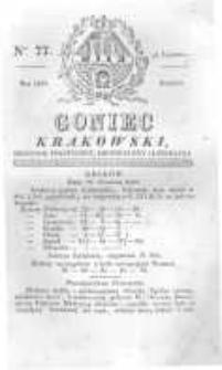 Goniec Krakowski: dziennik polityczny, historyczny i literacki. 1829.06.27 nr77