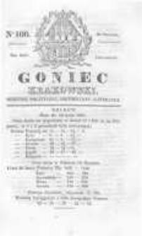 Goniec Krakowski: dziennik polityczny, historyczny i literacki. 1829.08.20 nr100