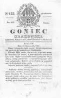 Goniec Krakowski: dziennik polityczny, historyczny i literacki. 1829.10.10 nr122