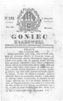 Goniec Krakowski: dziennik polityczny, historyczny i literacki. 1829.11.03 nr132