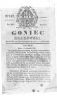 Goniec Krakowski: dziennik polityczny, historyczny i literacki. 1829.12.08 nr147