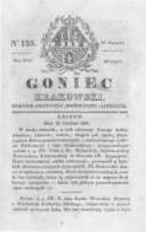 Goniec Krakowski: dziennik polityczny, historyczny i literacki. 1829.12.29 nr155