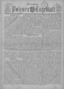 Posener Tageblatt 1901.01.01 Jg.40 Nr1
