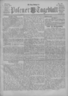 Posener Tageblatt 1901.01.07 Jg.40 Nr10