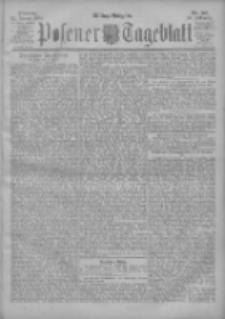 Posener Tageblatt 1901.01.22 Jg.40 Nr36