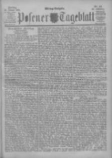 Posener Tageblatt 1901.01.25 Jg.40 Nr42