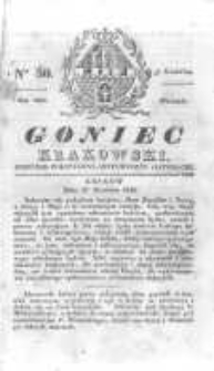 Goniec Krakowski: dziennik polityczny, historyczny i literacki. 1830.04.27 nr50
